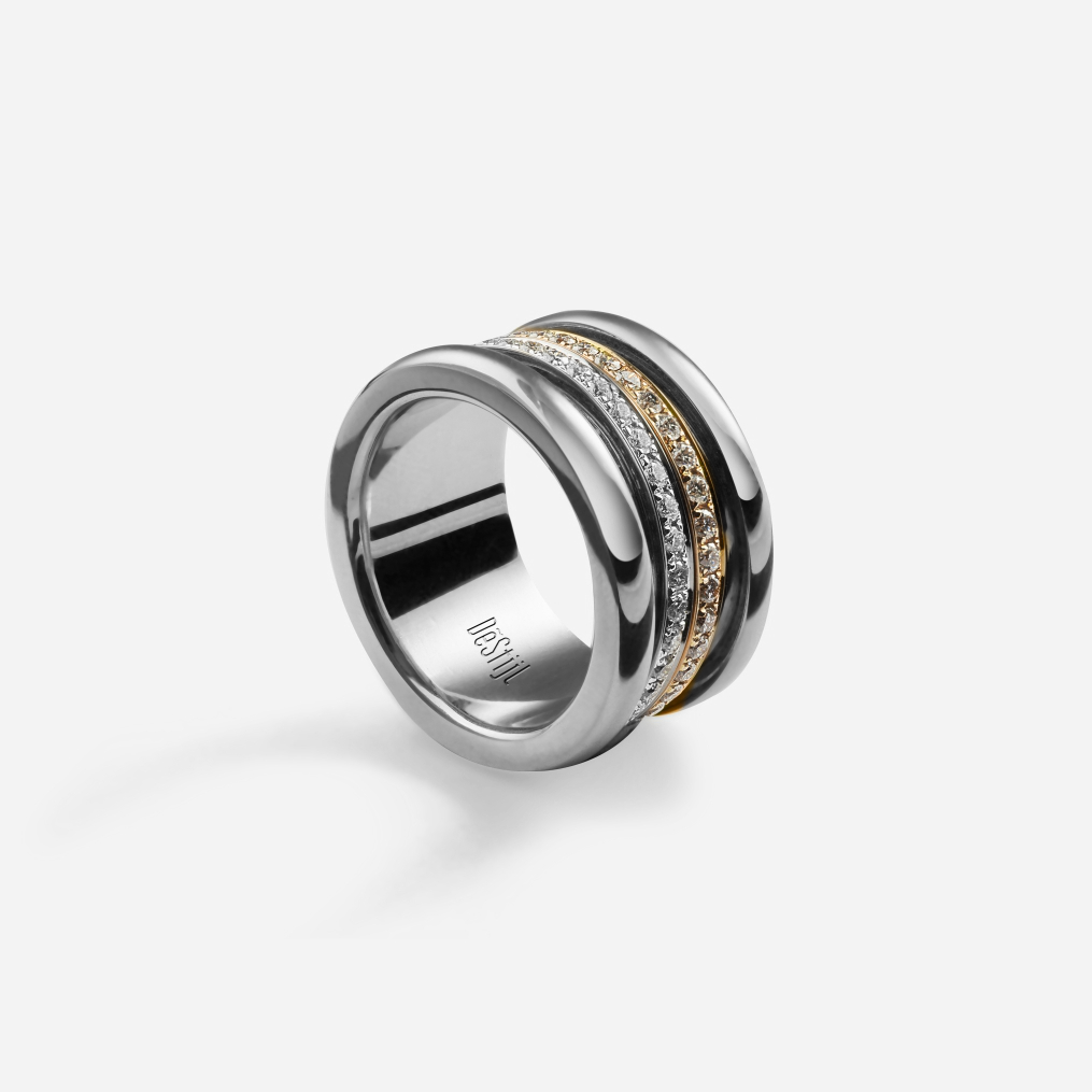 Or Trois 2-Band Ring