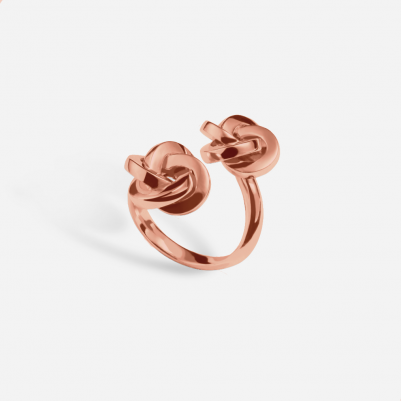Knot in 18k Rose Gold